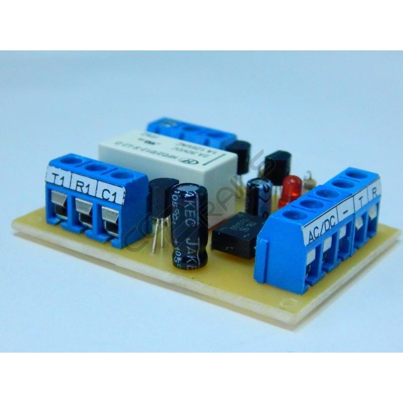 module relais bistable transistorise train tous chelles. Black Bedroom Furniture Sets. Home Design Ideas