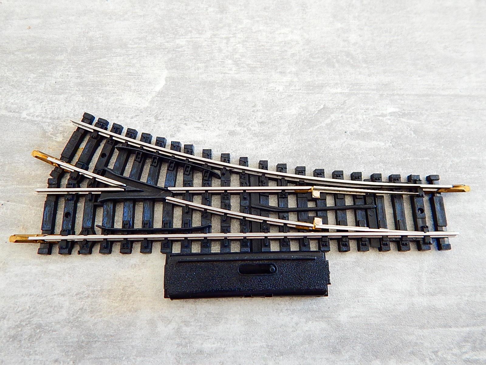4084 un aiguillage jouef rails acier manuel r 385 derive. Black Bedroom Furniture Sets. Home Design Ideas