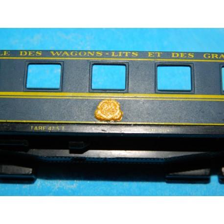 Märklin 8744-Automobile Voiture 2 classe de la DB-Très bien-Neuf dans sa boîte